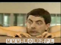 Mr. Bean goes to the swimming pool - Jaś Fasola